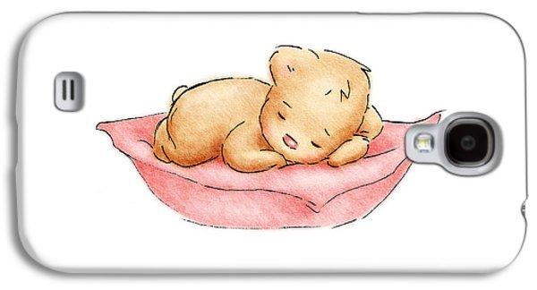 Sleeping Baby Bear Galaxy S4 Case