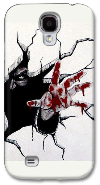 The Demon Inside Galaxy S4 Case by Teresa Wing