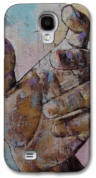 Zombie Hand Galaxy S4 Case by Michael Creese