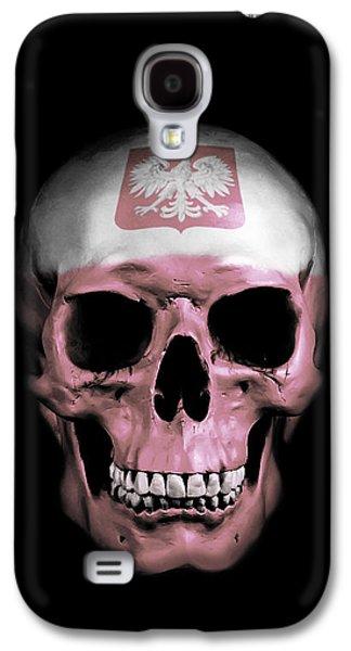 Polish Skull Galaxy S4 Case