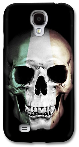 Irish Skull Galaxy S4 Case by Nicklas Gustafsson