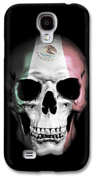 Mexican Skull Galaxy S4 Case by Nicklas Gustafsson