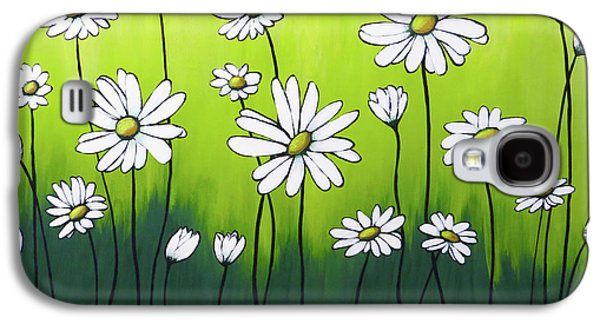 Daisy Crazy Galaxy S4 Case by Teresa Wing