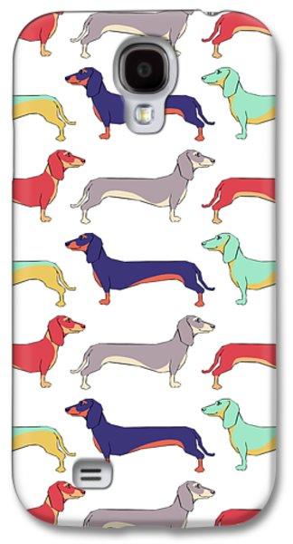Dachshunds Galaxy S4 Case