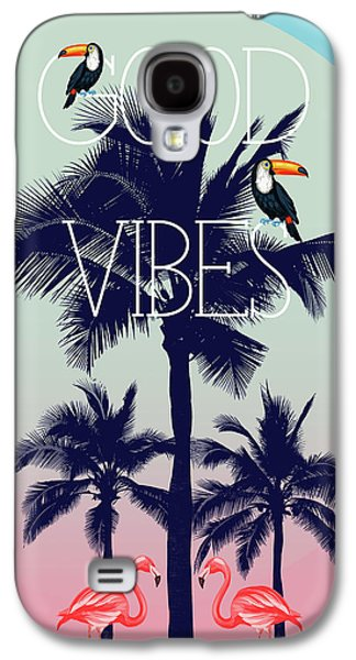 Good Vibes 2 Galaxy S4 Case by Mark Ashkenazi