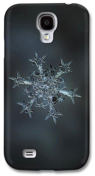 Snowflake Photo - Starlight II Galaxy S4 Case