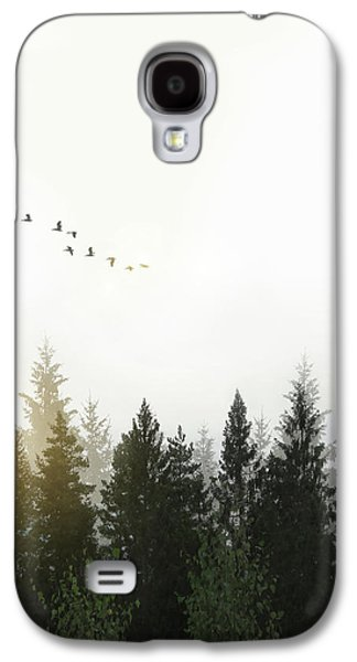 Forest Galaxy S4 Case by Nicklas Gustafsson