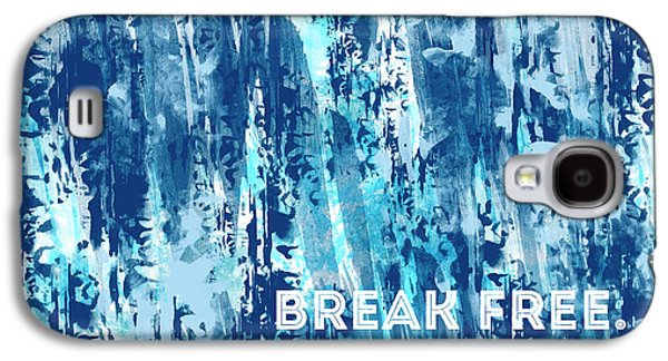 Emotional Art Break Free   Galaxy S4 Case by Melanie Viola