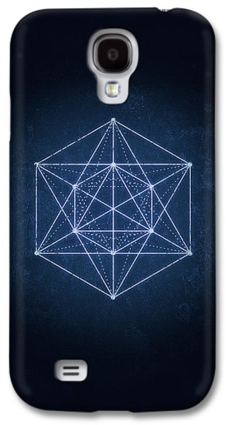 Sacred Geometry  Minimal Hipster Symbol Art Galaxy S4 Case by Philipp Rietz