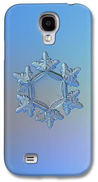 Snowflake Photo - Sunflower Galaxy S4 Case