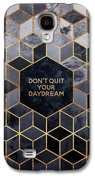 Don't Quit Your Daydream Galaxy S4 Case by Elisabeth Fredriksson