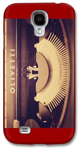 Olivetti Typewriter Galaxy S4 Case by Giuseppe Esposito