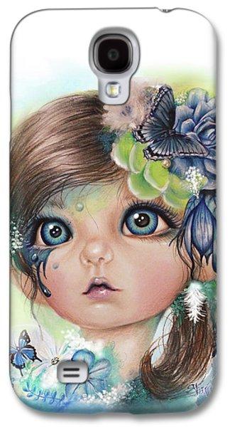 Indigo - Butterfly Keeper - Munchkinz By Sheena Pike  Galaxy S4 Case