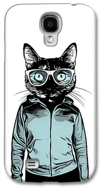 Cool Cat Galaxy S4 Case
