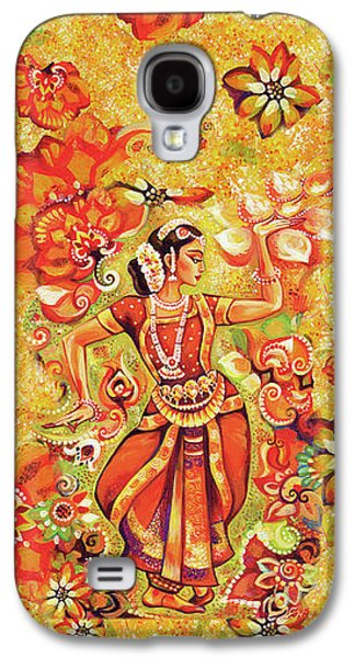 Ganges Flower Galaxy S4 Case by Eva Campbell