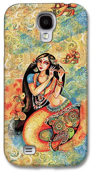 Aanandinii And The Fishes Galaxy S4 Case by Eva Campbell