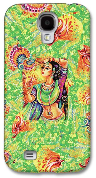 Galaxy S4 Case featuring the painting The Dance Of Tara by Eva Campbell