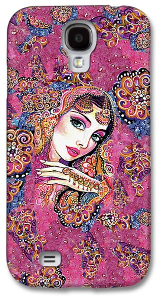 Galaxy S4 Case featuring the painting Kumari by Eva Campbell