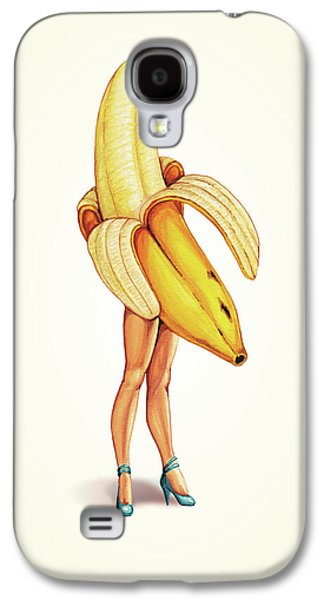 Fruit Stand - Banana Galaxy S4 Case by Kelly Gilleran