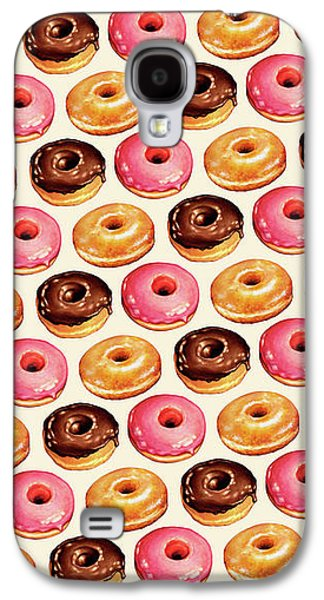 Donut Pattern Galaxy S4 Case