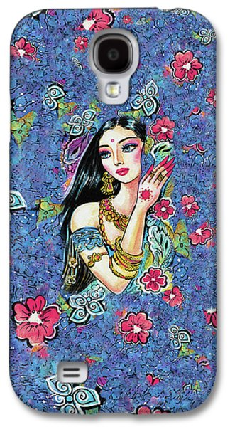 Galaxy S4 Case featuring the painting Gita by Eva Campbell