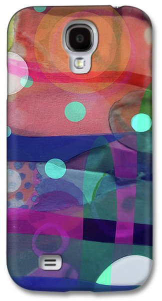 Dayglo Dream Galaxy S4 Case by Cathy Jacobs