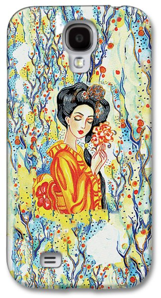 Galaxy S4 Case featuring the painting Harmony by Eva Campbell