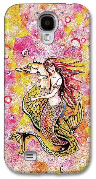 Black Sea Mermaid Galaxy S4 Case