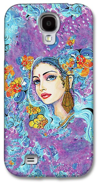 Galaxy S4 Case featuring the painting The Veil Of Aish by Eva Campbell