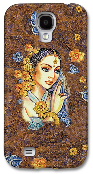 Galaxy S4 Case featuring the painting Amari by Eva Campbell
