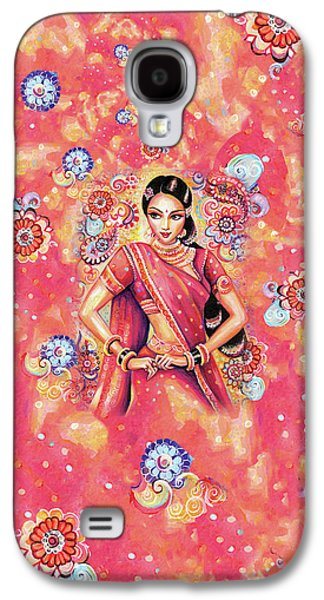 Galaxy S4 Case featuring the painting Devika Dance by Eva Campbell
