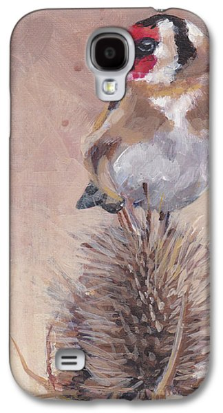 Finch On Thistle Galaxy S4 Case