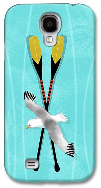 K Is For Kayak And Kittiwake Galaxy S4 Case