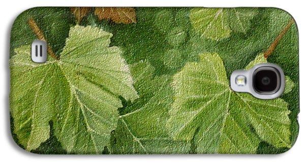 Vine Leaves Galaxy S4 Case