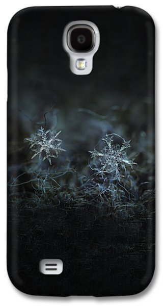 Snowflake Photo - When Winters Meets - 2 Galaxy S4 Case