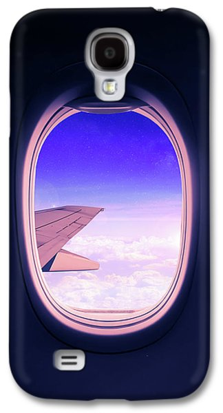 Airplane Galaxy S4 Case - Travel The World by Nicklas Gustafsson