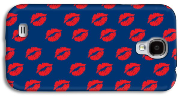 Lips Galaxy S4 Case by Mark Ashkenazi