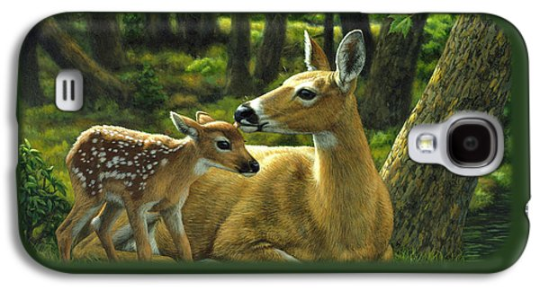 Whitetail Deer - First Spring Galaxy S4 Case