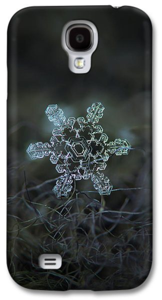 Real Snowflake - Slight Asymmetry New Galaxy S4 Case