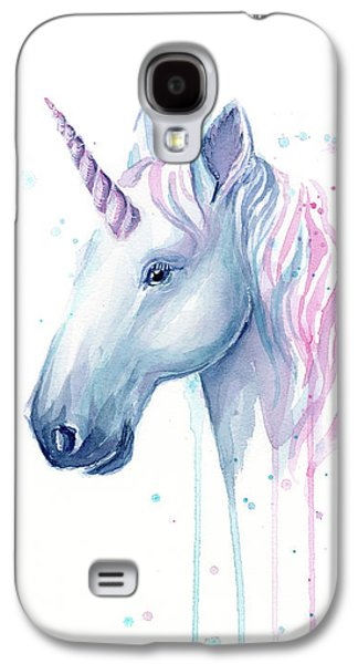 Magician Galaxy S4 Case - Cotton Candy Unicorn by Olga Shvartsur
