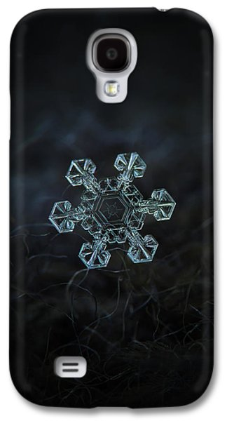 Real Snowflake - Ice Crown New Galaxy S4 Case