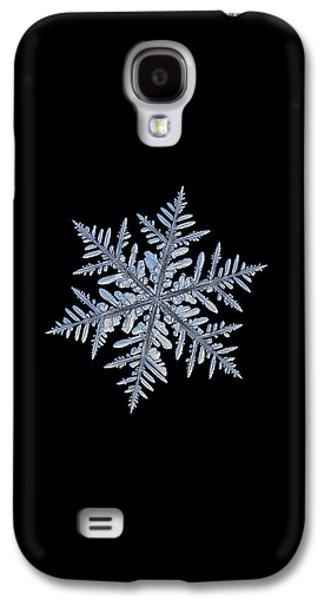 Real Snowflake - Silverware Black Galaxy S4 Case