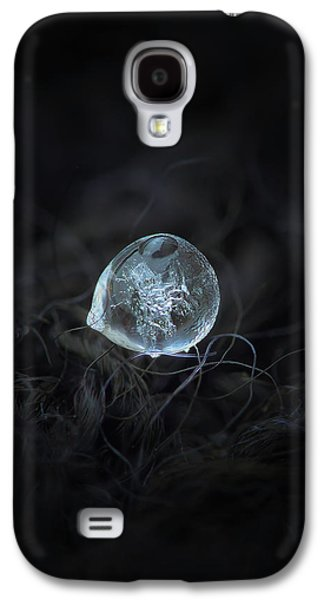 Drop Of Ice Rain Galaxy S4 Case
