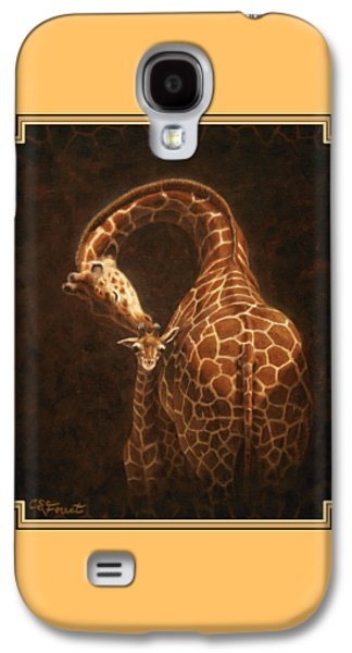Love's Golden Touch Galaxy S4 Case by Crista Forest