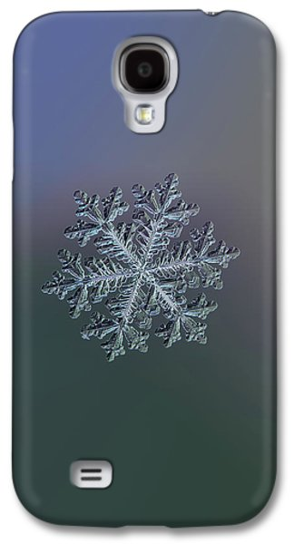 Real Snowflake - Hyperion Dark Galaxy S4 Case