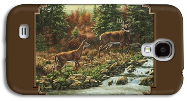 Whitetail Deer - Follow Me Galaxy S4 Case