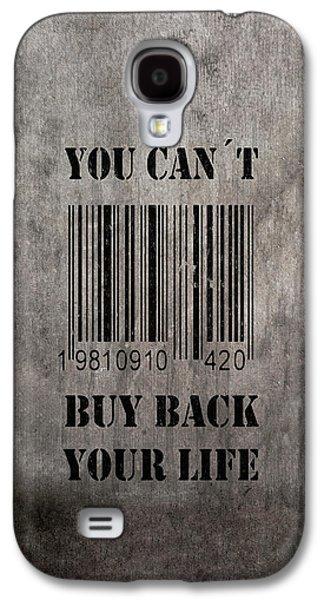 Buy Back Galaxy S4 Case by Nicklas Gustafsson