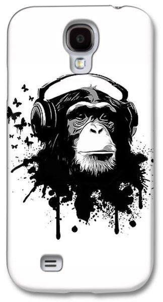 Monkey Business Galaxy S4 Case by Nicklas Gustafsson