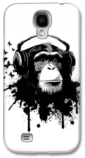 Galaxy S4 Case - Monkey Business by Nicklas Gustafsson