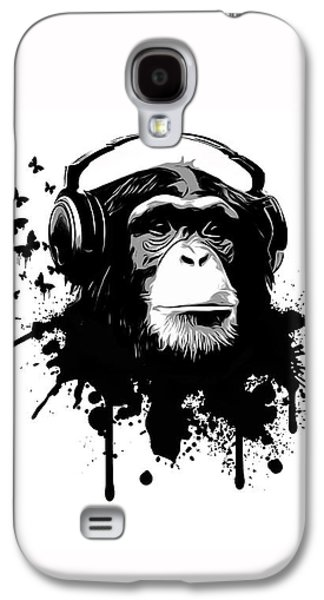 Monkey Business Galaxy S4 Case by Nicklas Gustafsson